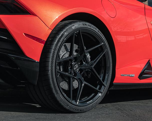 VR Forged D04 Wheel Gloss Black 20x9 +32mm 5x112
