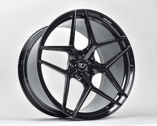VR Forged D04 Wheel Matte Black 21x9.5 +50mm 5x130