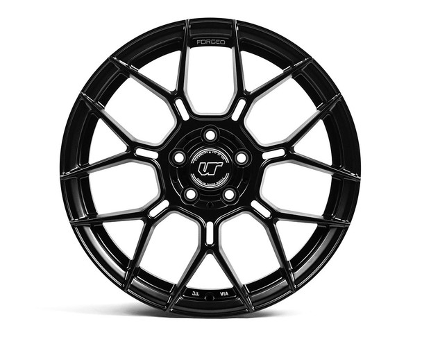 VR Forged D09 Wheel Matte Black 18x9.5 +45mm 5x120