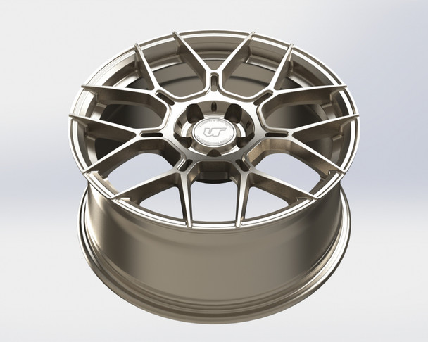 VR Forged D09 Wheel Gunmetal 19x9.5 +40mm 5x112