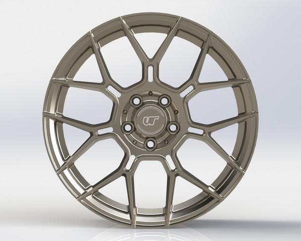 VR Forged D09 Wheel Gunmetal 20x10 +30mm 5x114.3