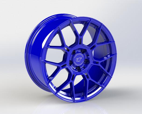 VR Forged D09 Wheel Dark Blue 20x12 +25mm 5x114.3