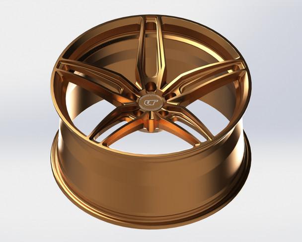 VR Forged D10 Wheel Satin Bronze 18x9.5 +40mm 5x114.3