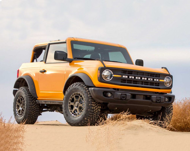 VR Forged D14 Wheel Package Ford Bronco 17x8.5 Satin Bronze