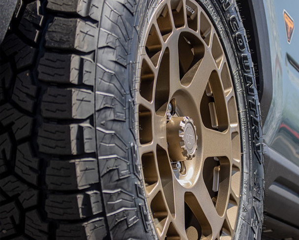 VR Forged D14 Wheel Package Ford Bronco Sport 17x8.0 Satin Bronze