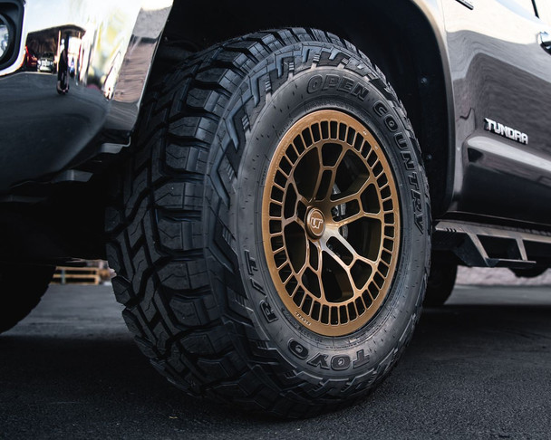 VR Forged D02 Wheel Package Toyota Tundra   Land Cruiser 18x9 Satin Bronze