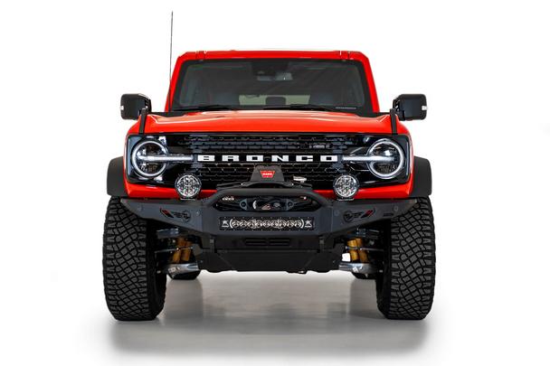 Addictive Desert Designs 2021-2022 Ford Bronco Rock Fighter Winch Front Bumper
