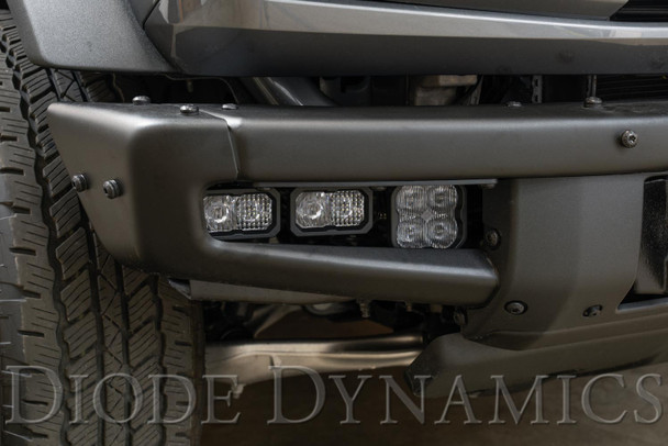Diode Dynamics Stage Series Fog Pocket Kit for 2021 Ford Bronco, Yellow Sport