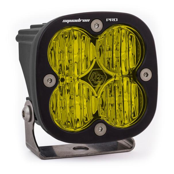Baja Designs Squadron Pro, LED Wide Cornering, Amber