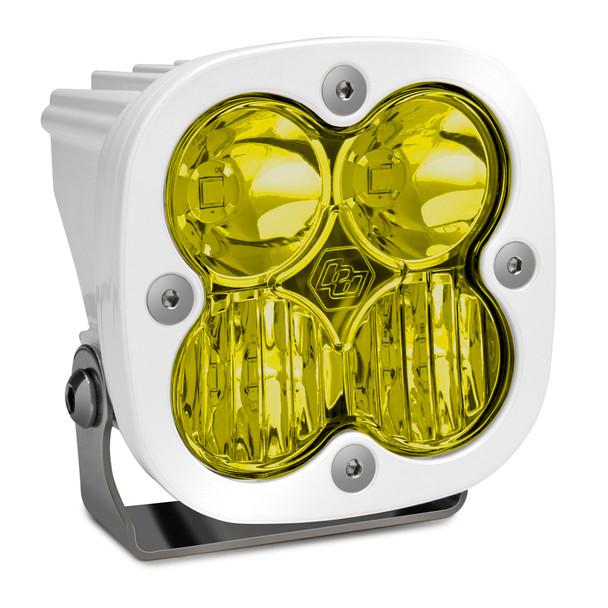 Baja Designs Squadron Pro, White, LED Driving/Combo, Amber