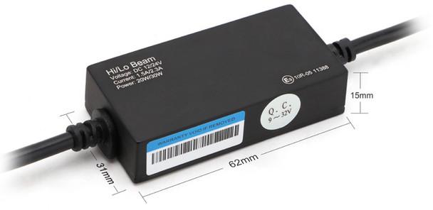 CrystaLux G9 Series LED Headlight/Fog Light Conversion Kit