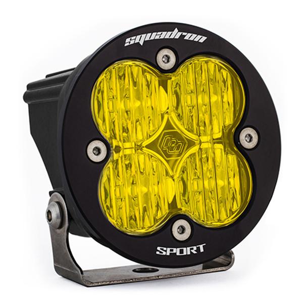Baja Designs Squadron-R Sport, LED Wide Cornering, Amber