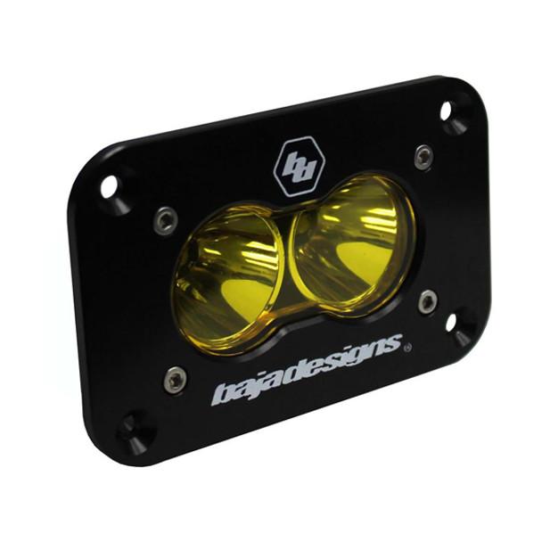 Baja Designs S2 Sport, Flush Mount, LED Spot, Amber