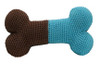 Blue Bone Crochet Toy