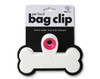 Pink & White Pet Food Bag Clip