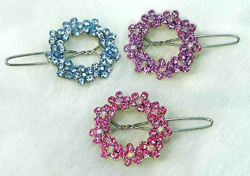 Swarovski Wreath Clips