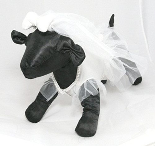 Wedding Dress Pet Costume