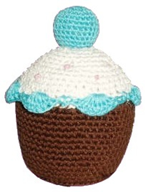 Blueberry Cupcake Crochet Toy