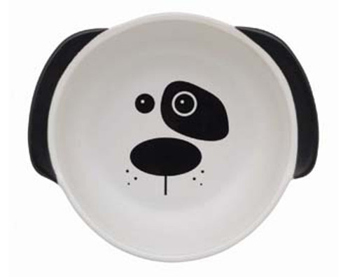 Dog Face Ceramic Bowl