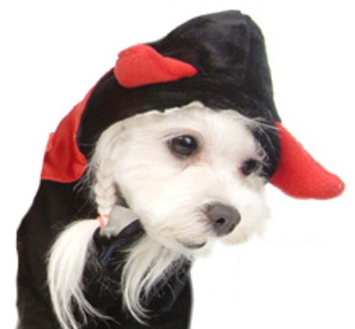 Horn Devil Pet Costume