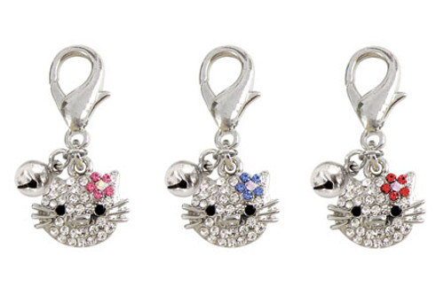 Kitty Face Charms