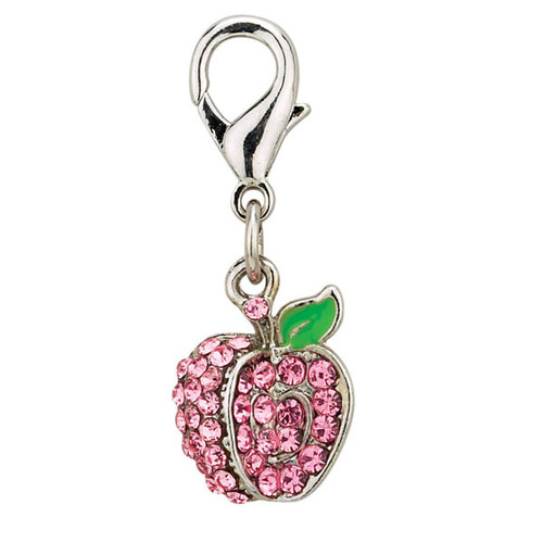 Apple Jewel Charm