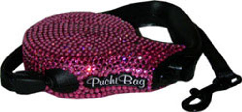 Pink Swarovski® Crystal Leash