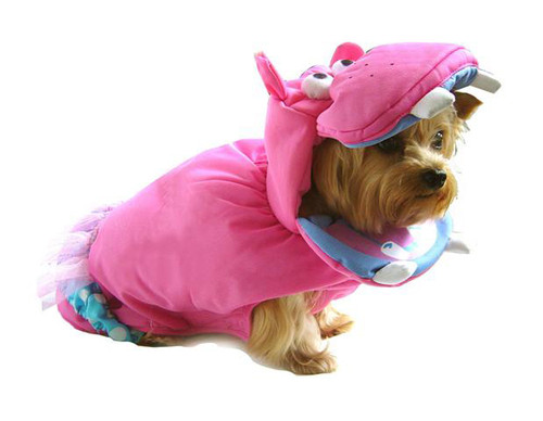 Polka Dot Hippo Pet Costume