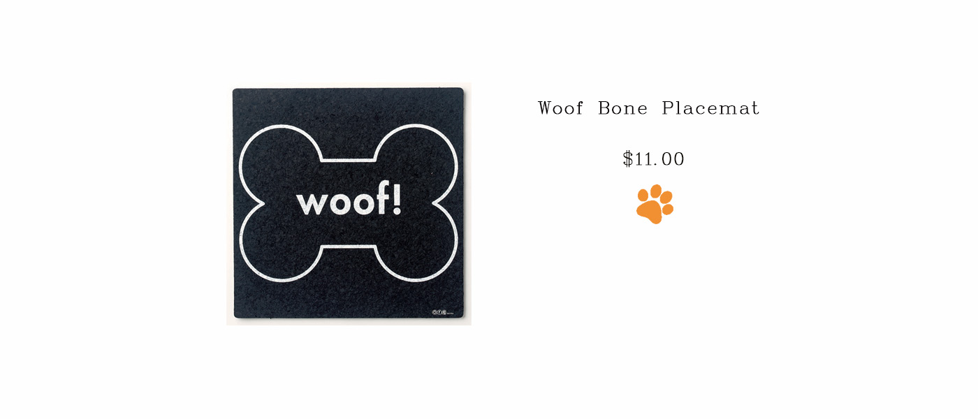 Woof Bone Placemat