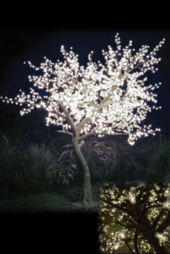 9' Warm White Light Blossom Tree
