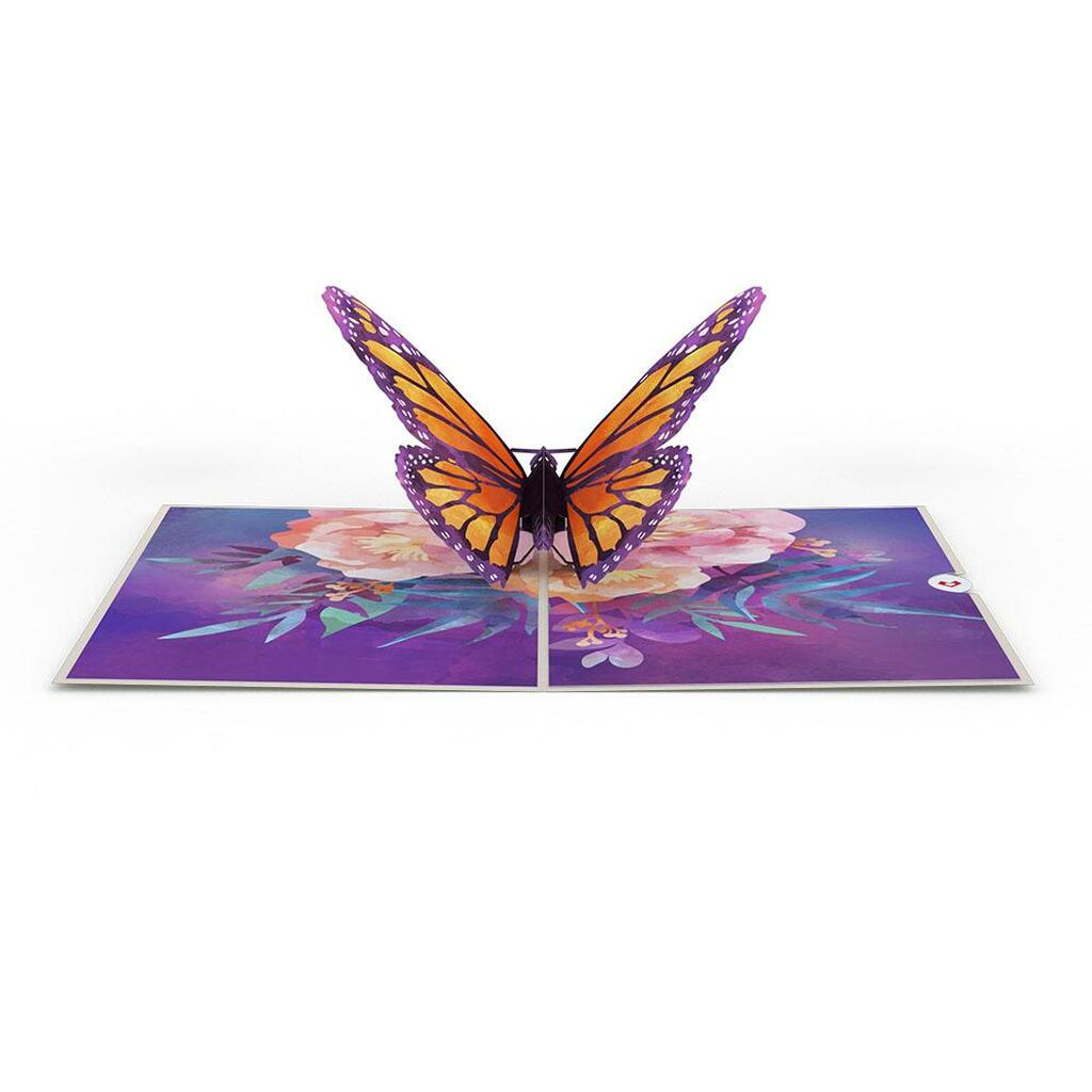 Pop-Up Card, Monarch Butterfly