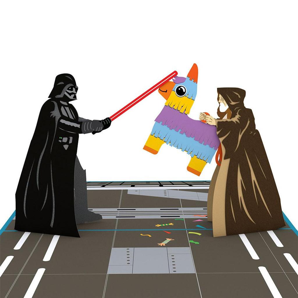 Pop-Up Card, Darth Vader Celebration