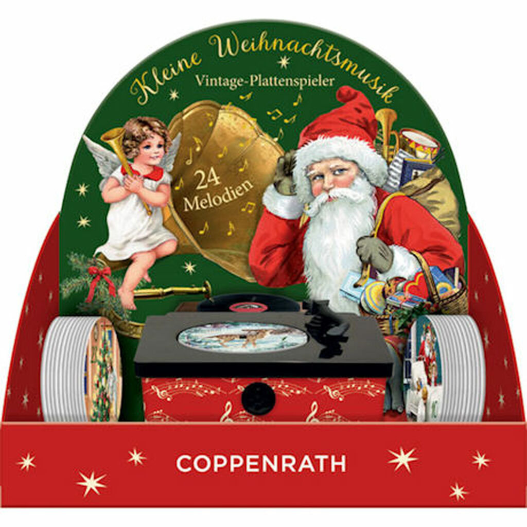 Coppenrath Vintage Gramophone Musical Advent Calendar