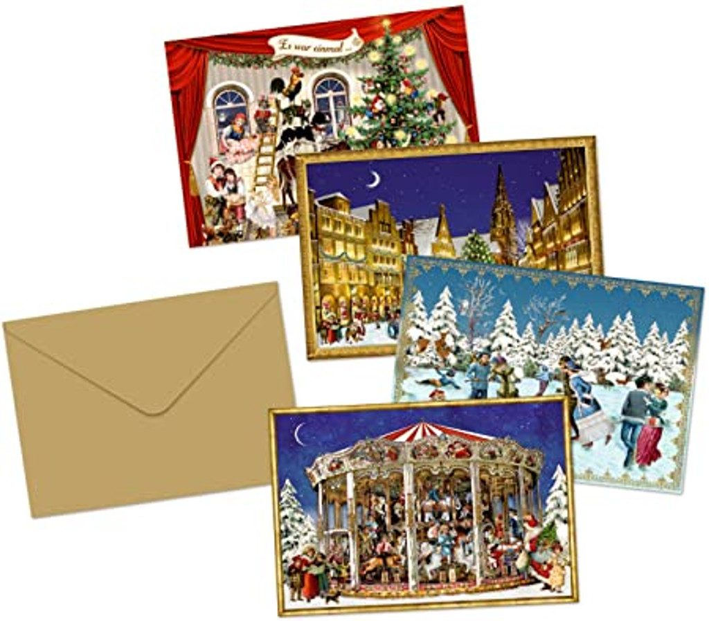 Coppenrath Vintage Advent Calendar Cards
