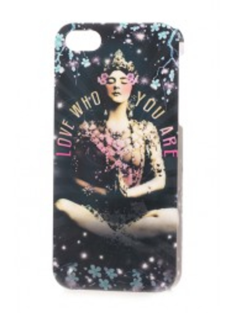 Temple Girl iPhone 5 Case by PAPAYA!