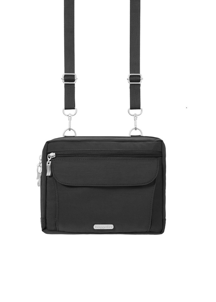 Wander Bagg Crossbody Purse Black