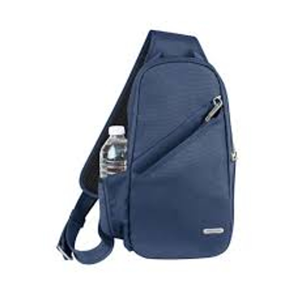 Anti-Theft Classic Sling Bag, Midnight