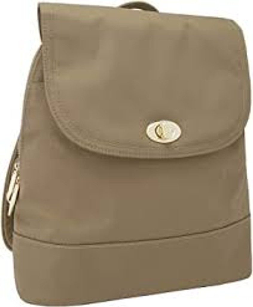 Anti-Theft Tailored Backpack, Sable