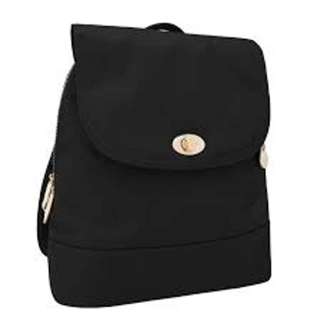 Anti-Theft Tailored Backpack, Black