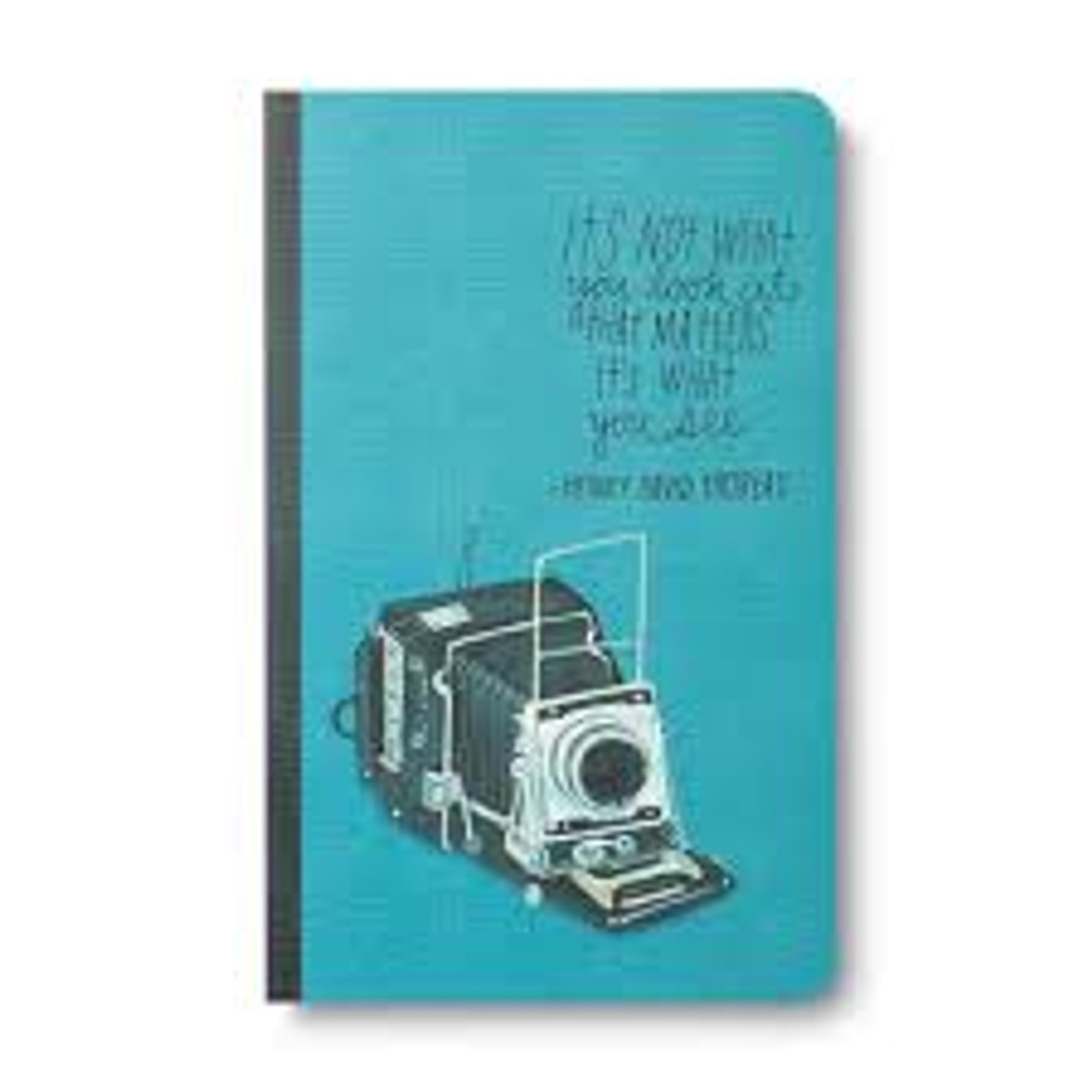 Write Now Journal, Thoreau What You See