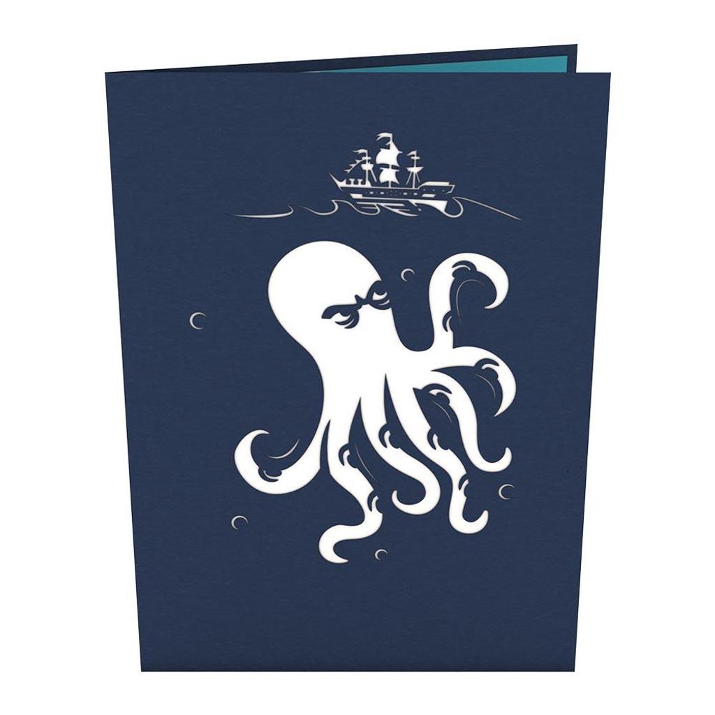 Pop-Up Card, Release the Kraken