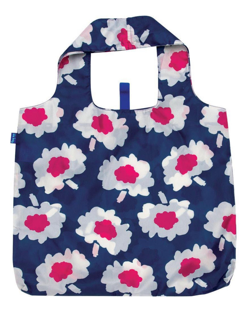 Adelaide Magenta Floral Reusable Shopping Tote