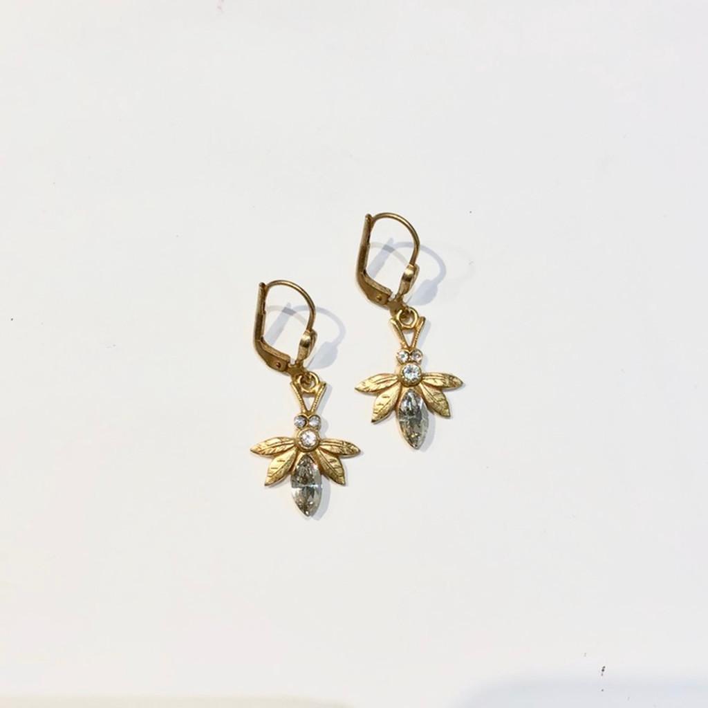 Bee Swarovski Crystal Earrings