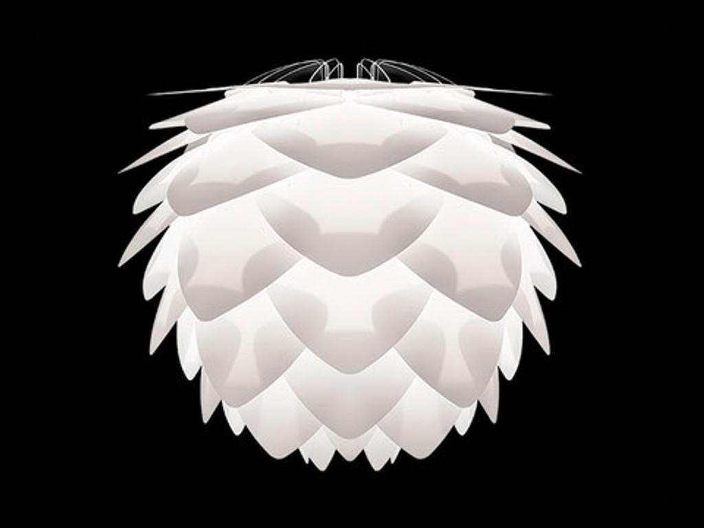 Silvia Mini White Pendant Light