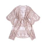 Lacy Kimono, Blush