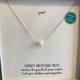 Pearl Tiny Gem Gold Fill Necklace