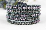 5 Wrap Bracelet - Thunder