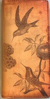 Viaggio Hummingbird Wallet Vegan Leather