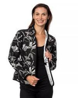 Classic Honeysuckle Reversible Jacket, Onyx