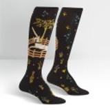 Women's Knee High Socks, Unicorn in Captivity